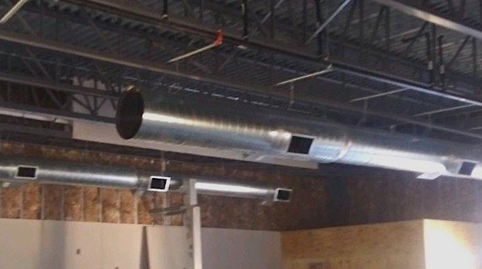 Duct For VFW Lewisville