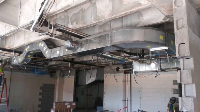 Duct For Texas A&M Residence Hall